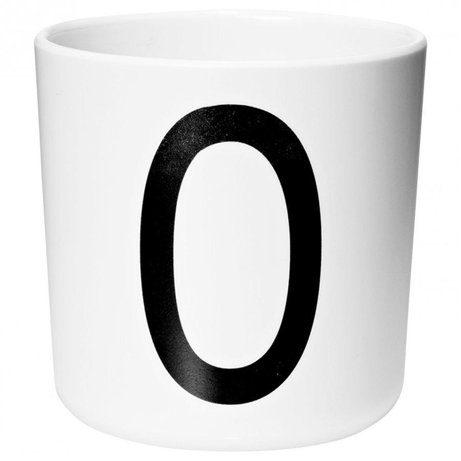Design Letters Melamine Cup O Nokkamuki
