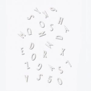 Design Letters Numerot & Kirjaimet Valkoinen