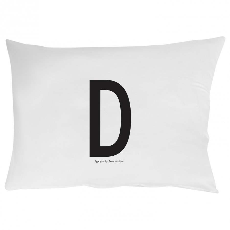 Design Letters Pillowcase D 70 X 50 Cm Pussilakanasetti