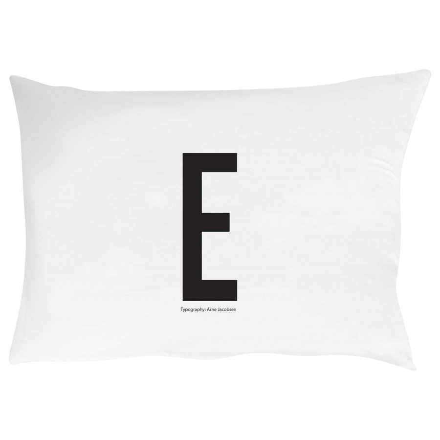 Design Letters Pillowcase E 70 X 50 Cm Tyynyliina