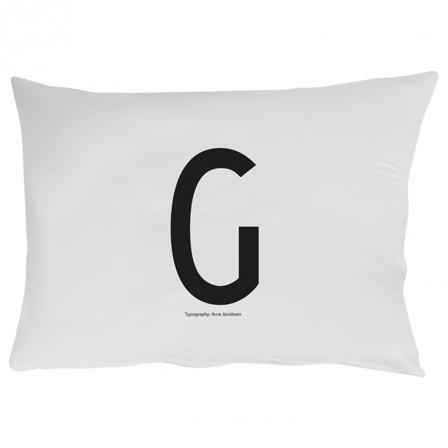 Design Letters Pillowcase G 70 X 50 Cm Pussilakanasetti