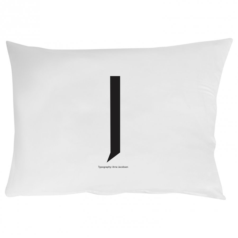 Design Letters Pillowcase J 70 X 50 Cm Pussilakanasetti