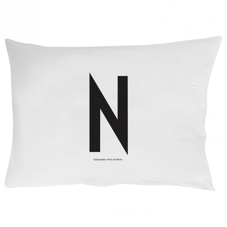 Design Letters Pillowcase N 70 X 50 Cm Pussilakanasetti