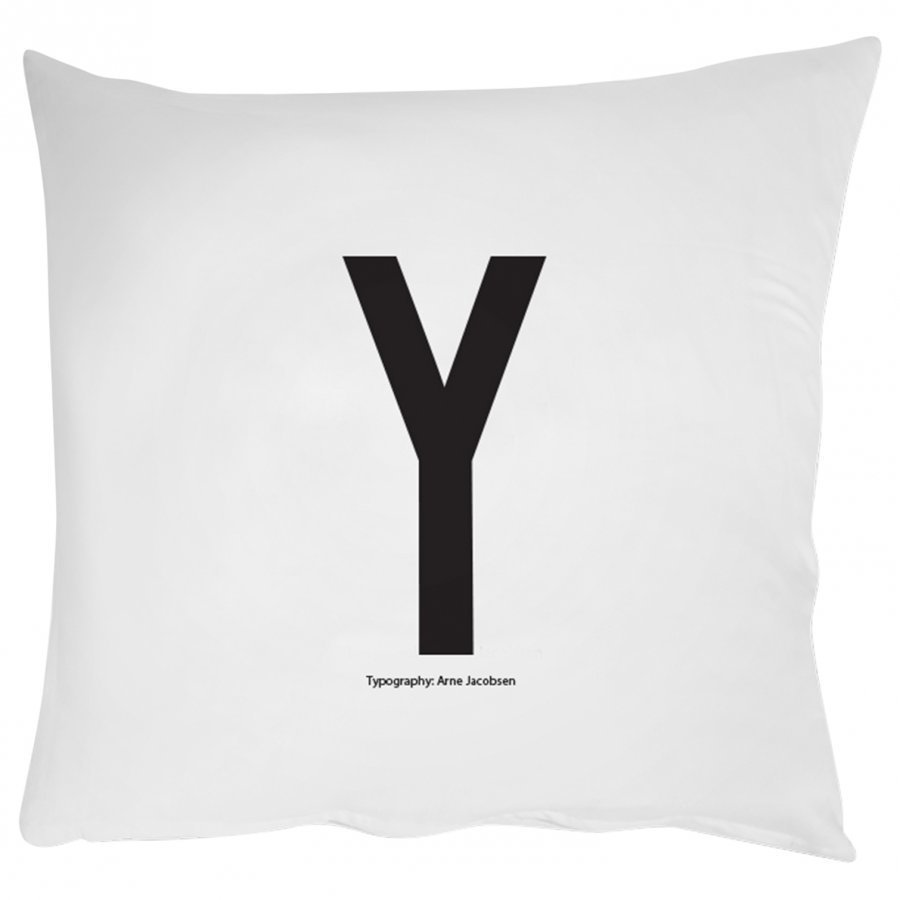 Design Letters Pillowcase Y 60 X 50 Cm Pussilakanasetti