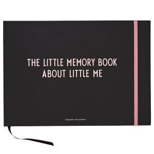 Design Letters The Little Memory Book About Little Me Kirja Pinkki