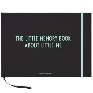 Design Letters The Little Memory Book About Little Me Kirja Turkoosi