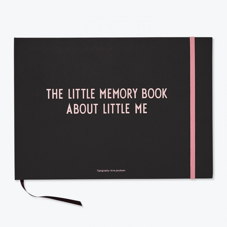 Design Letters The Little Memory Book About Little Me Pink Muistikirja