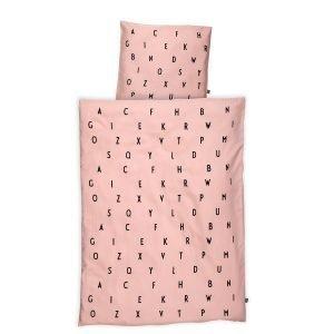 Design Letters Vuodevaatteet Baby Vaaleanpunainen