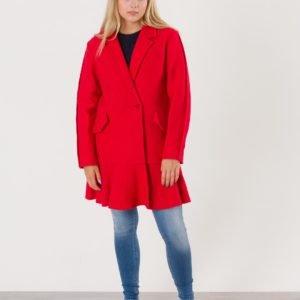 Designers Remix Girls Edith Ruffle Coat Takki Punainen