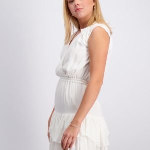 Designers Remix Girls Eliza Ruffle Dress Mekko Valkoinen