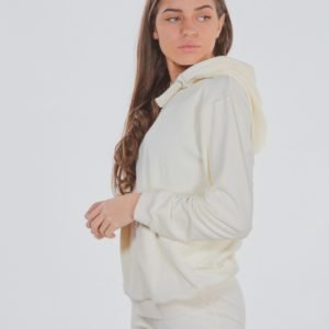 Designers Remix Girls Frances Hoodie Huppari Valkoinen