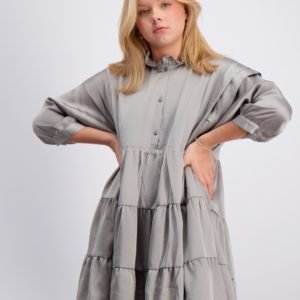 Designers Remix Girls Lauren Layered Dress Mekko Harmaa
