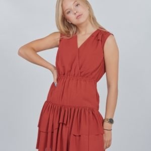 Designers Remix Girls Lr Byron Ruffle Dress Mekko Punainen