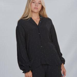 Designers Remix Girls Lr Leana Shirt Kauluspaita Musta