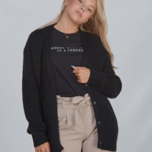 Designers Remix Girls Lr Vicki Cardigan Neule Musta