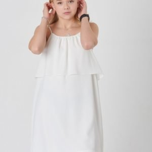 Designers Remix Girls Mirah Layer Dress Mekko Valkoinen