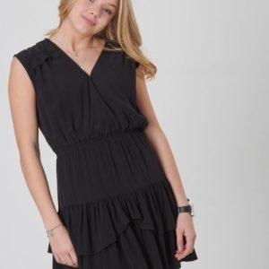 Designers Remix Girls Nini Ruffle Dress Mekko Musta