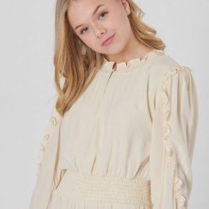 Designers Remix Girls Nini Smock Dress Mekko Keltainen