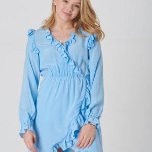Designers Remix Girls Nini Wrap Dress Mekko Sininen