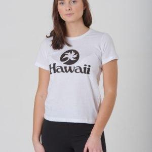 Designers Remix Girls Stanley Hawaii T-Paita Valkoinen