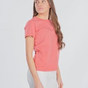 Designers Remix Girls Stanley Side Logo Tee T-Paita Punainen