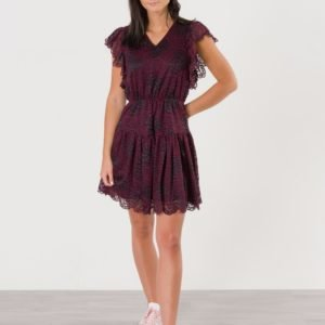 Designers Remix Girls Veronica Ruffle Dress Mekko Punainen