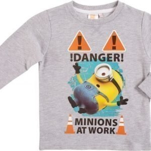 Despicable me Collegepusero Melange grey