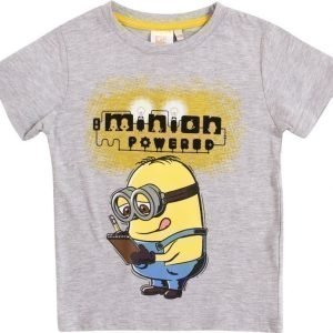 Despicable me T-paita Melange grey