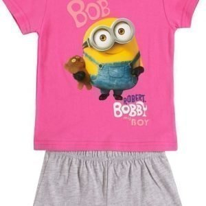 Despicable me Yöpuku Fuxia/Light grey