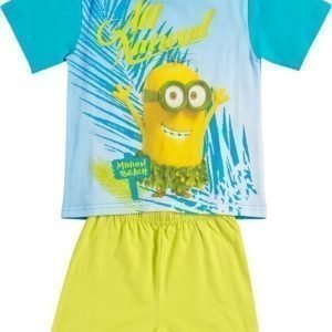 Despicable me Yöpuku Lime green