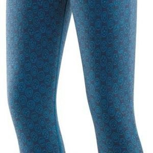 Devold Active Happy Face Kid Long Johns Kerrastohousut Tummansininen