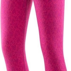 Devold Active Happy Heart Kid Long Johns Kerrastohousut Orchid