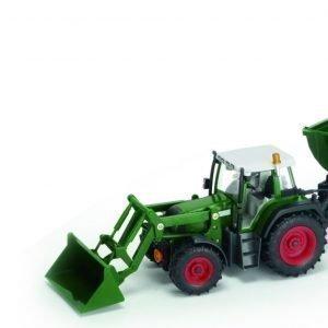 Dickie Radio Ohjattava Traktori + Peräkärry