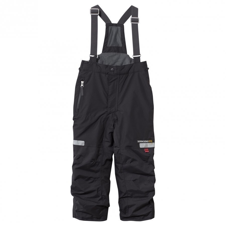 Didriksons Amitola Kids Pants Coal Black Toppahousut