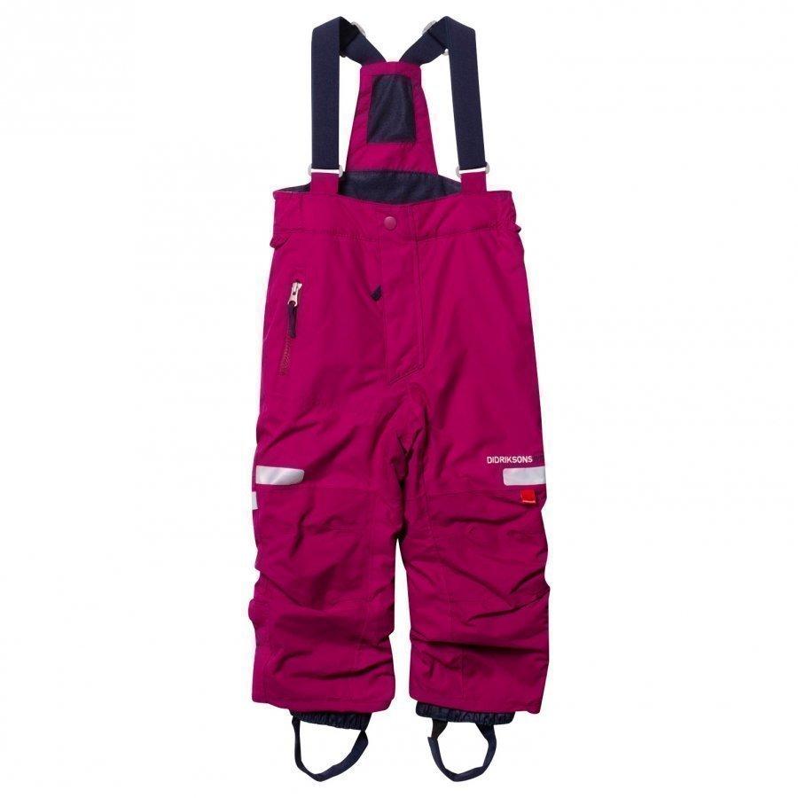 Didriksons Amitola Kid's Pants Dark Lilac Toppahousut