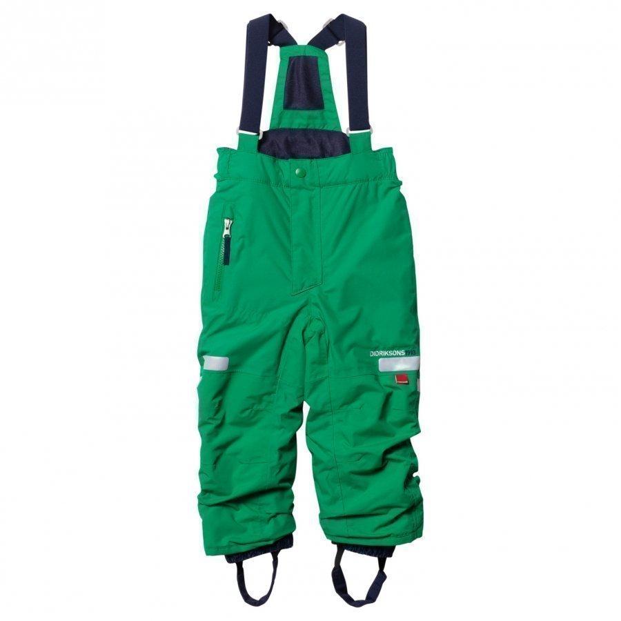 Didriksons Amitola Kid's Pants Jello Gree Toppahousut