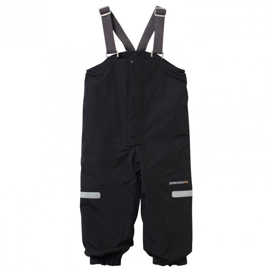 Didriksons Ayasha Kid's Pants Black Toppahousut