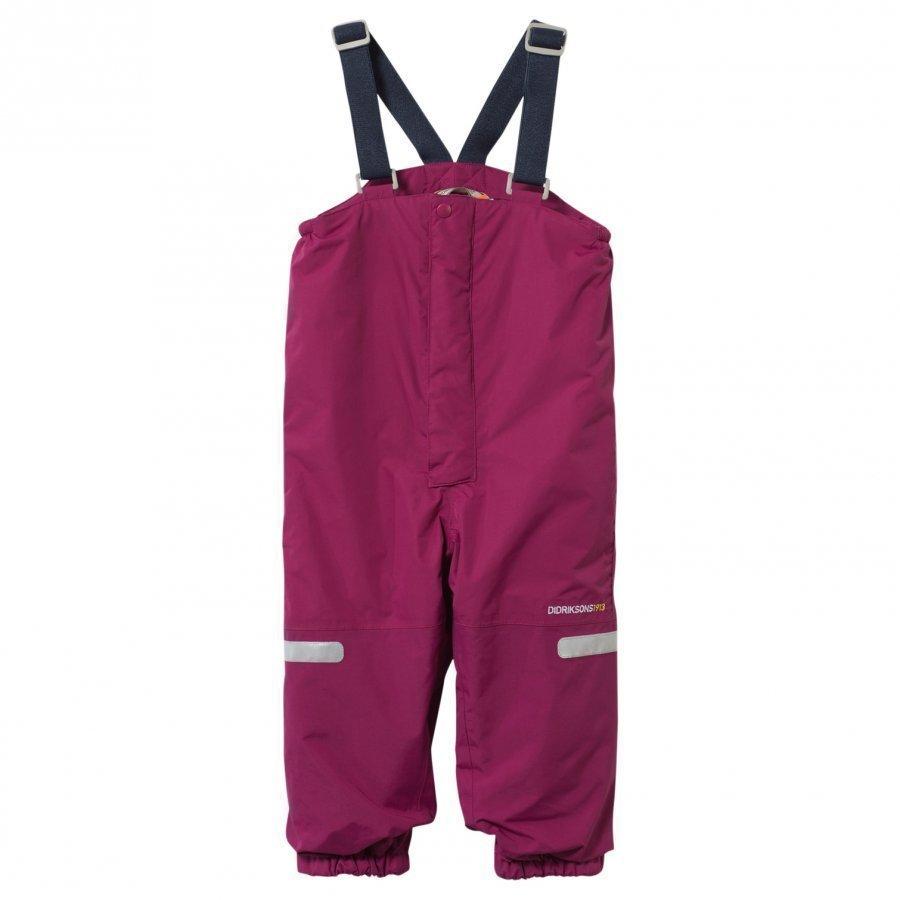 Didriksons Ayasha Kid's Pants Dark Lilac Toppahousut