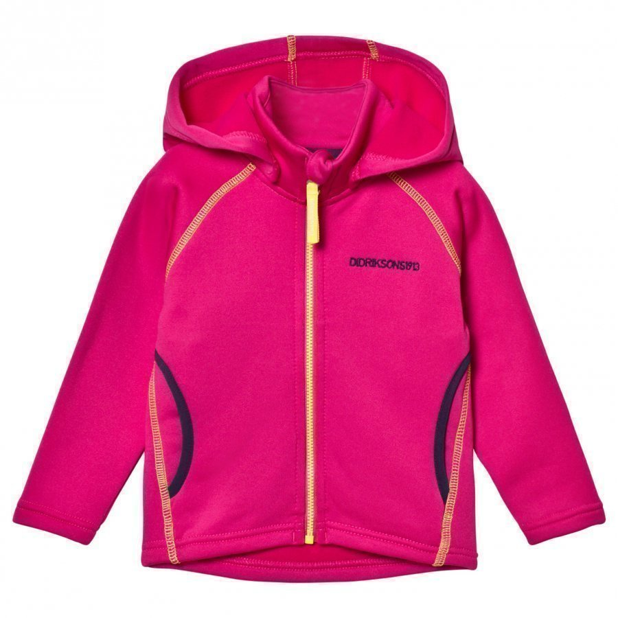 Didriksons Bawal Kids Jacket Fuchsia Fleece Huppari