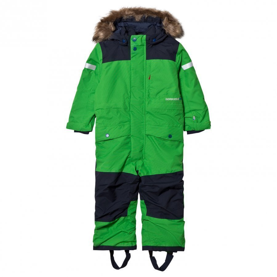 Didriksons Björnen Kid´S Coverall Kryptonite Toppahaalari