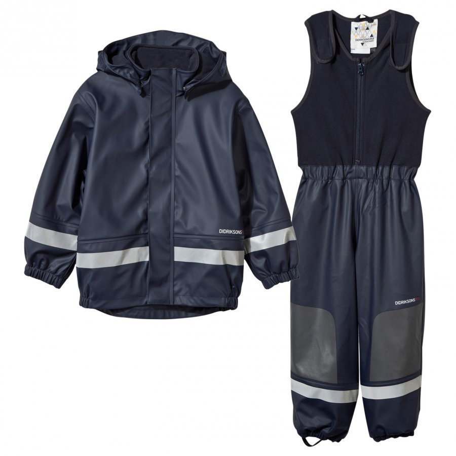 Didriksons Boardman Kids Set Navy Sadesetti