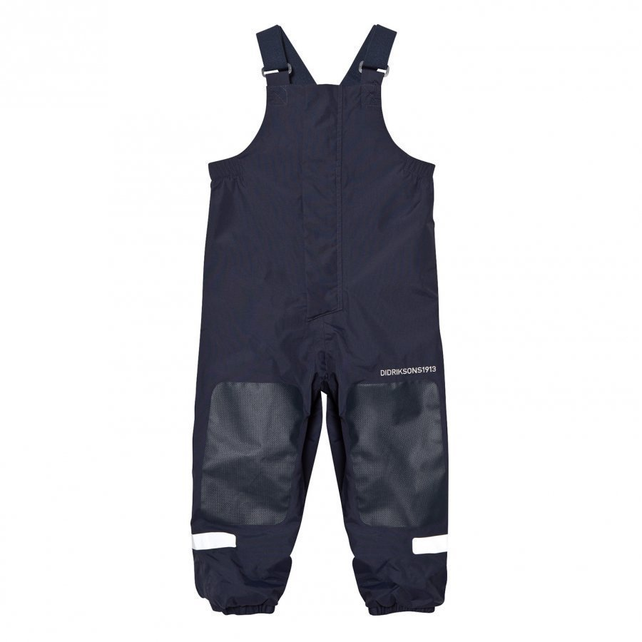 Didriksons Chaning Kids Rain Pants Navy Sadehousut