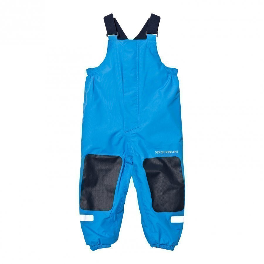 Didriksons Chaning Kids Rain Pants Sharp Blue Sadehousut