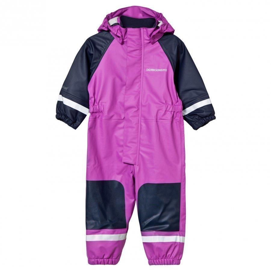 Didriksons Coverman Kid's Rain Suit Amethyst Sadehaalari