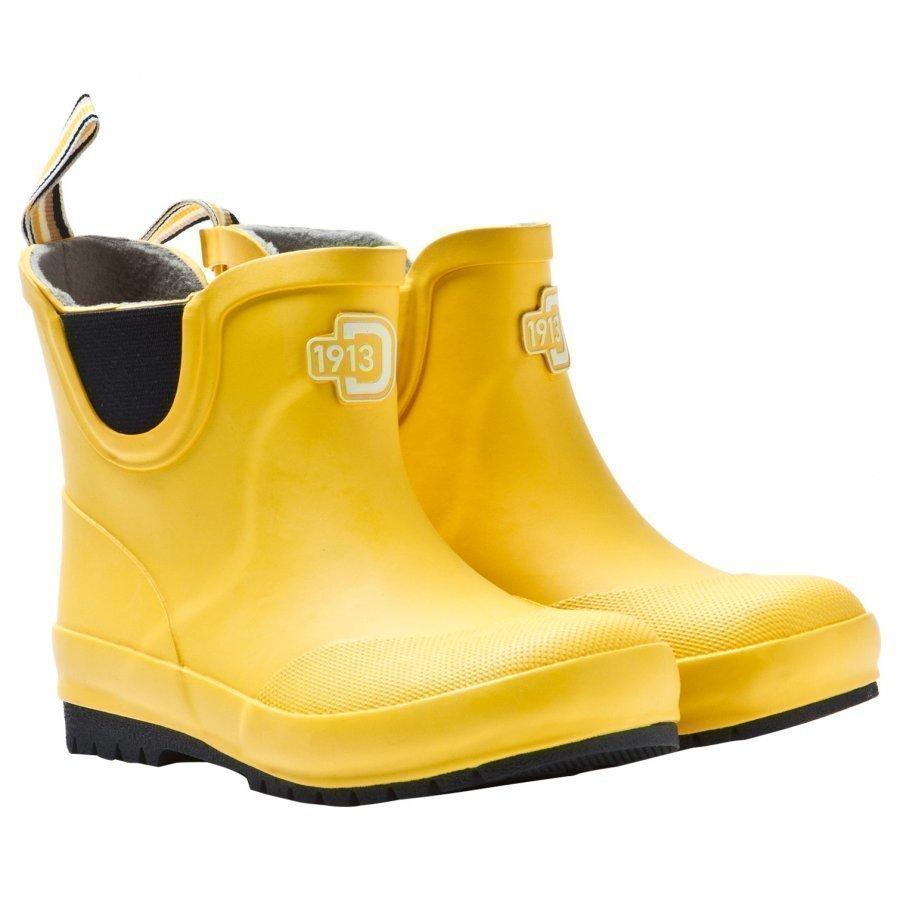 Didriksons Cullen Kid's Rain Boots Yellow Kumisaappaat