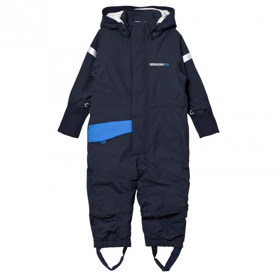 Didriksons Duved Kids Coverall Navy Toppahaalari