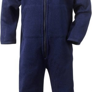Didriksons Etna Jumpsuit Kid Fleecehaalarit Navy