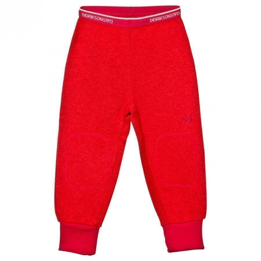 Didriksons Etna Kid's Pants Tomato Red Fleece Takki