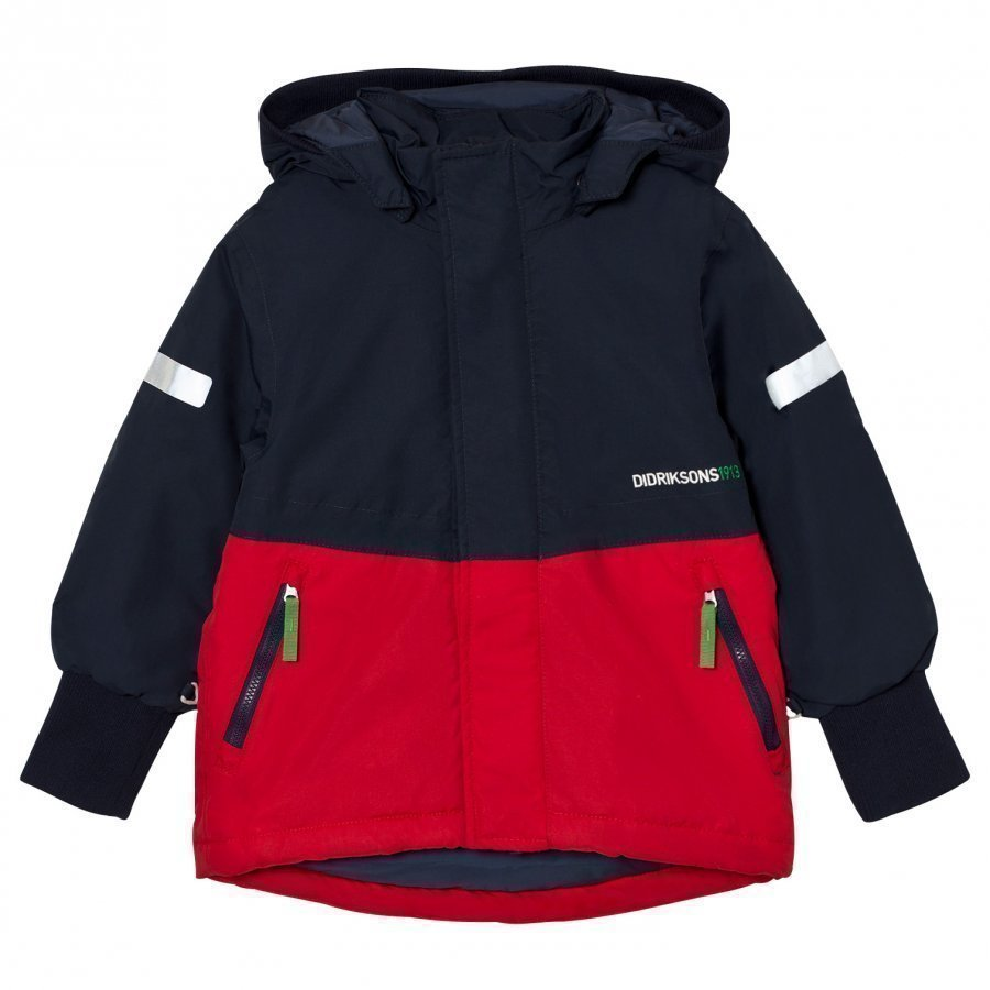 Didriksons Härje Kid´S Jacket Red Toppatakki