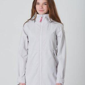 Didriksons Hamna Girls Jacket Takki Harmaa